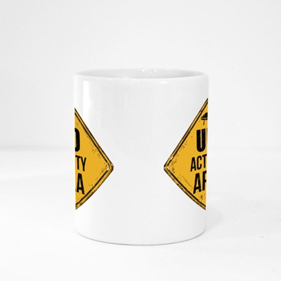 Ufo Activity Area Magic Mugs