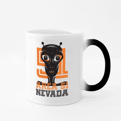 Alien from Area 51 Nevada Magic Mugs