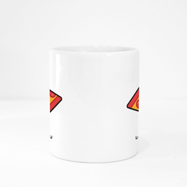 Every Pizza Me Loves You Colour Mugs
