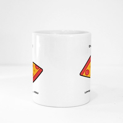 Every Pizza Me Loves You Magic Mugs
