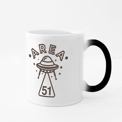 Area 51 Ufo Abduction Magic Mugs