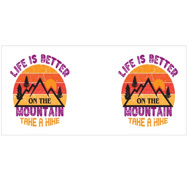 Life Is Better on the Mountain Colour Mugs