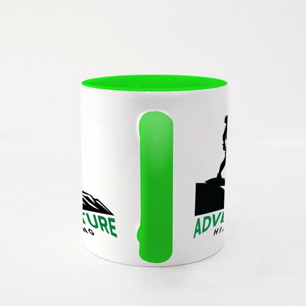 Adventure Hiking Colour Mugs