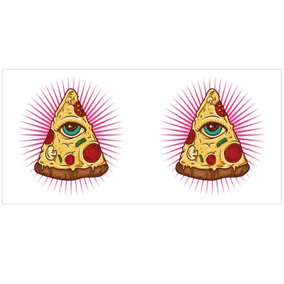 Illuminati Pizza Magic Mugs