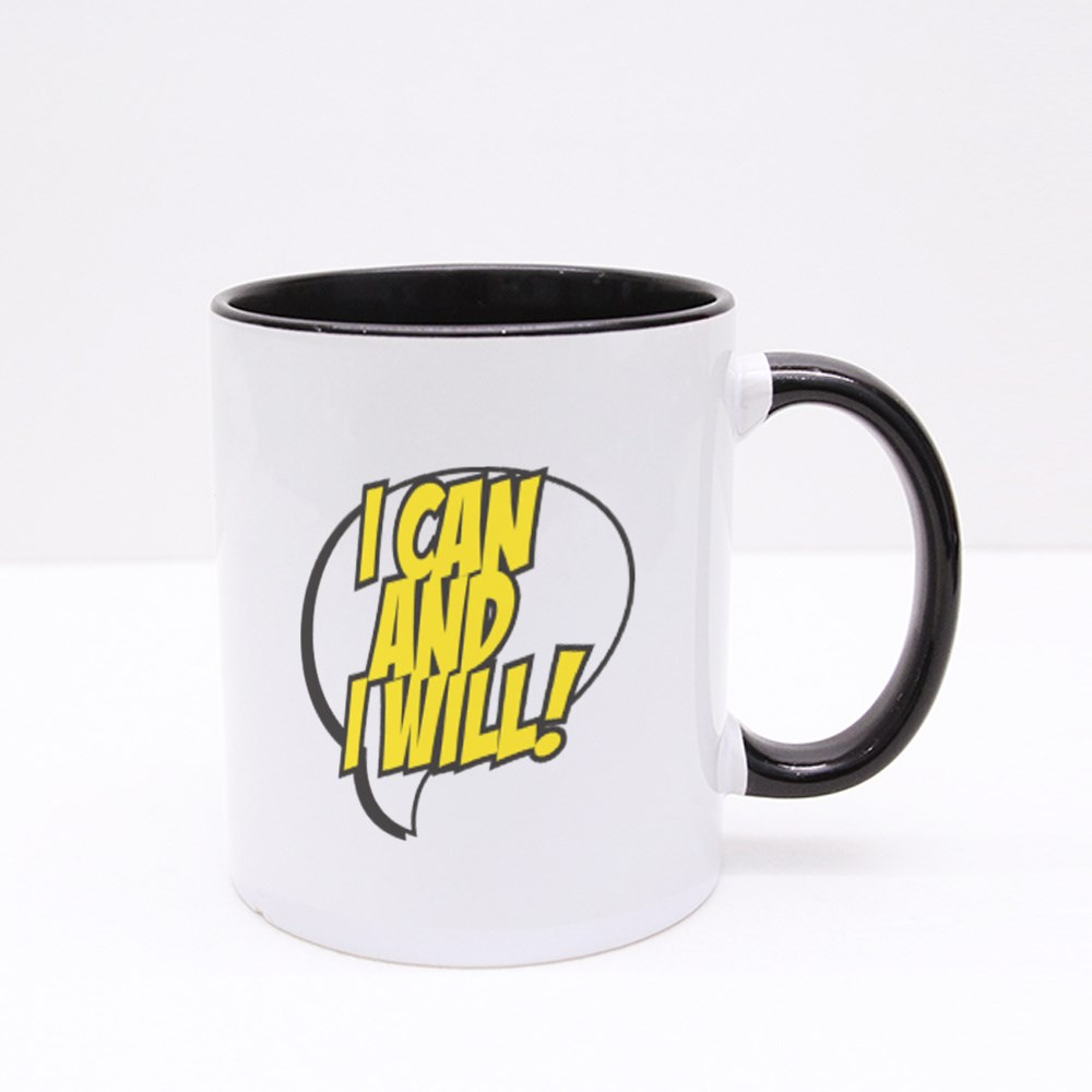 I Can and I Will Colour Mugs