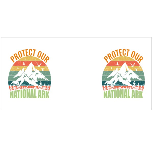 Protect Our National Ark Colour Mugs