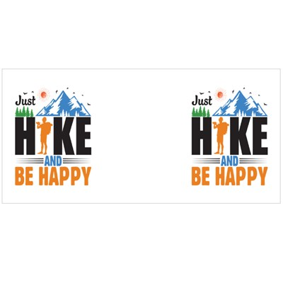Just Hike and Be Happy Magic Mugs