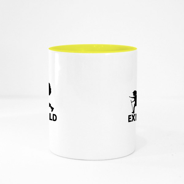 Explore the World Colour Mugs