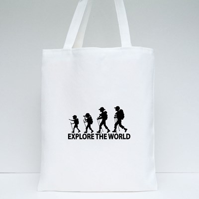 Explore the World Tote Bags