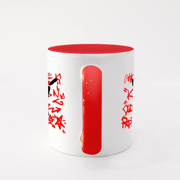 Stylish Print With a Crown Colour Mugs
