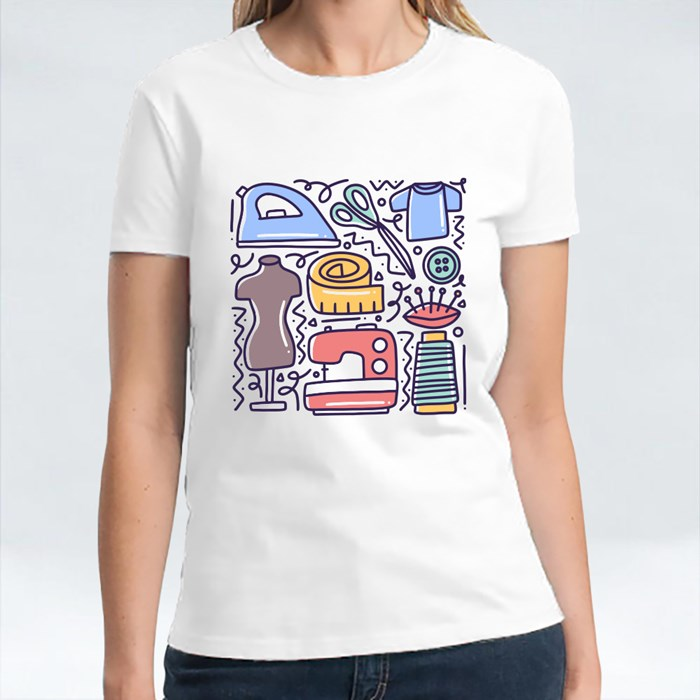 Doodle Set With Icons T-Shirts