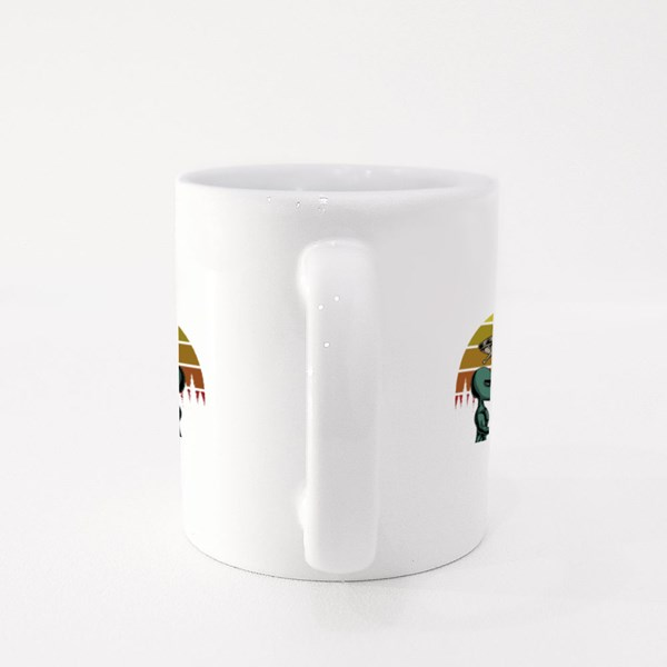 Bigfoot and Alien Conspiracy Colour Mugs