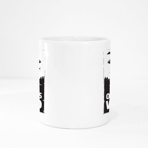 Ufo Out of This World Colour Mugs