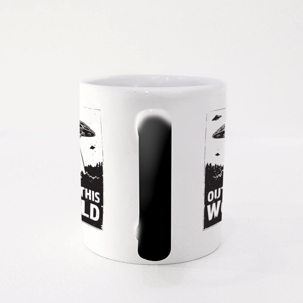 Ufo Out of This World Magic Mugs