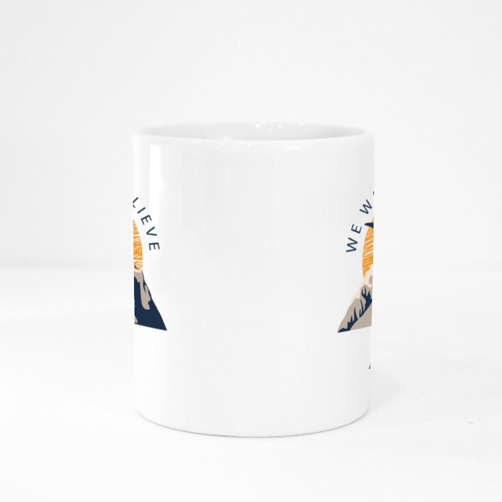 We Want to Believe Colour Mugs