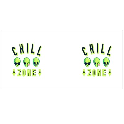 Alien Chill Zone Magic Mugs