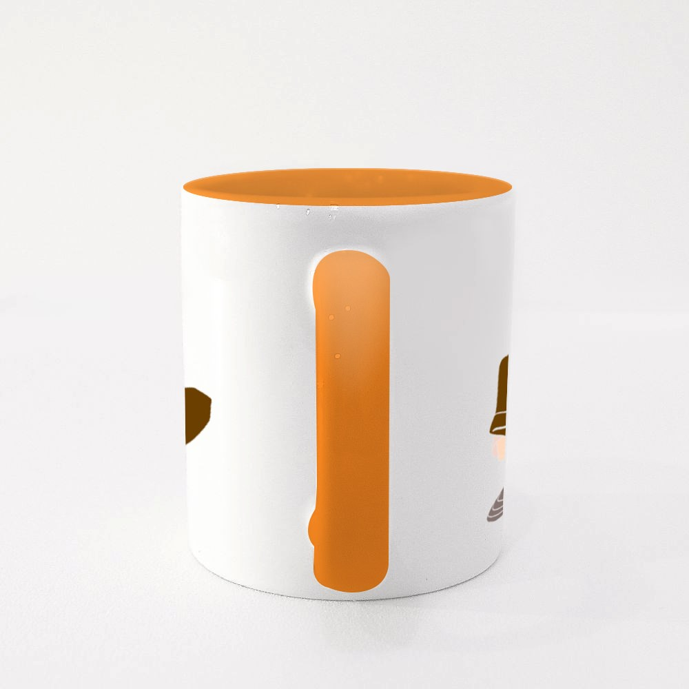 Man With a Flower Colour Mugs