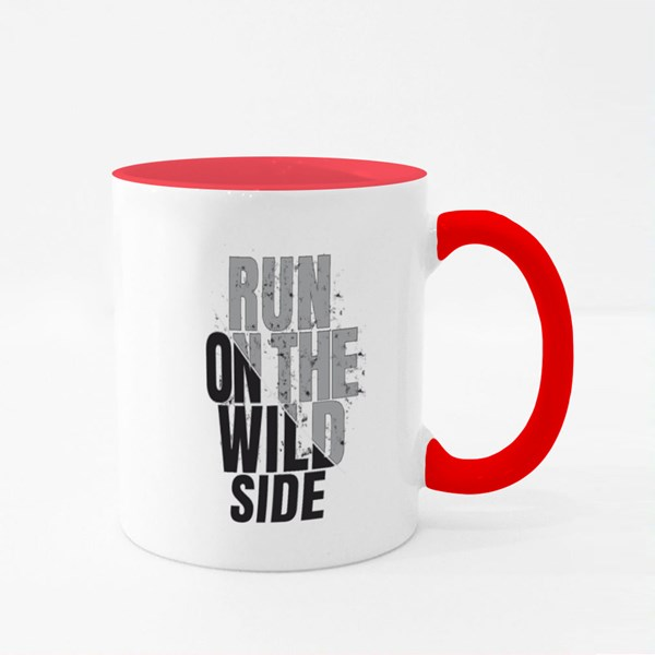 Run on the Wild Side Colour Mugs