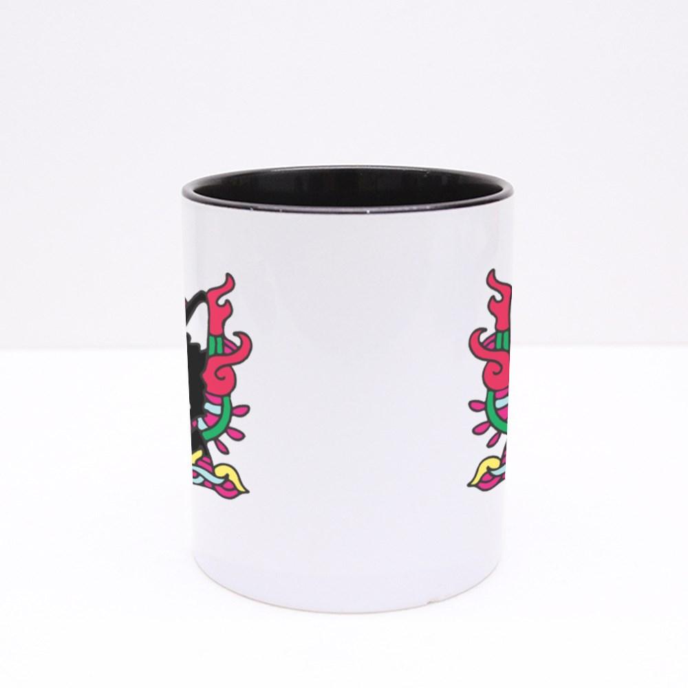 Cute Colorful Cat Doodle Colour Mugs