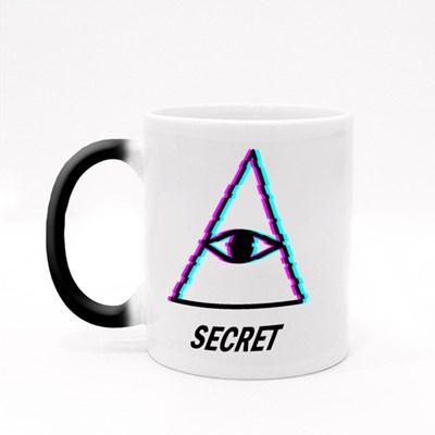 Secret Masonic Symbol Magic Mugs