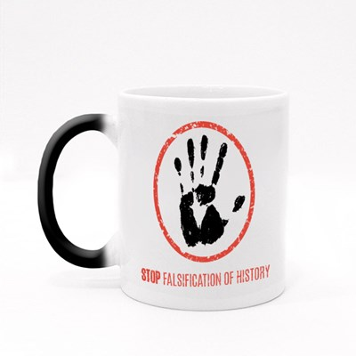Stop Falsification of History Magic Mugs