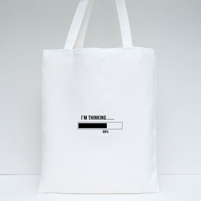 I'm Thinking Programmer Tote Bags