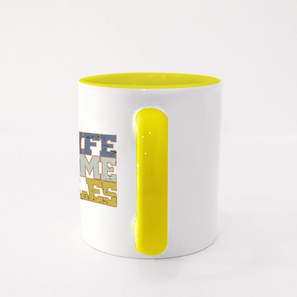 My Life Game Rules Colour Mugs