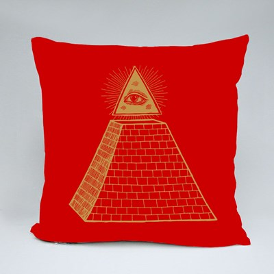 Eye of Providence Throw Pillows