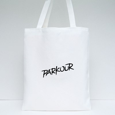 Parkour in Black Tote Bags