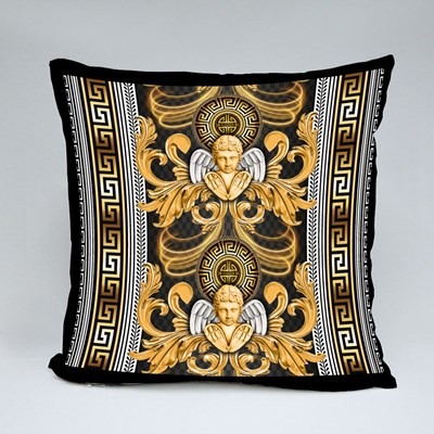Seamless Repeated Baroque Throw Pillows