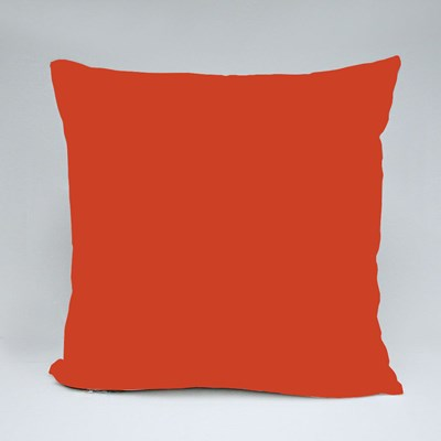 Vintage Red Meander Throw Pillows
