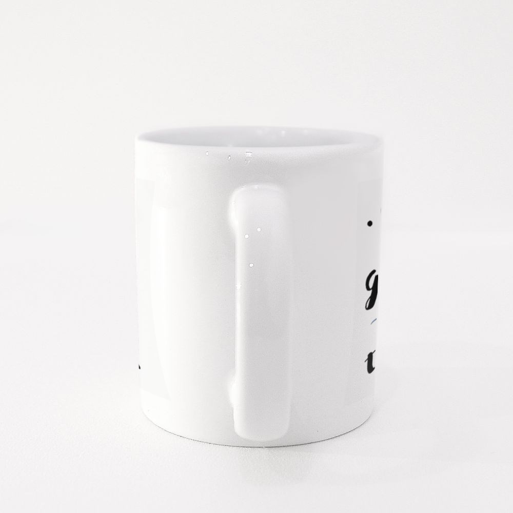 Only Fish Go With the Flow Colour Mugs