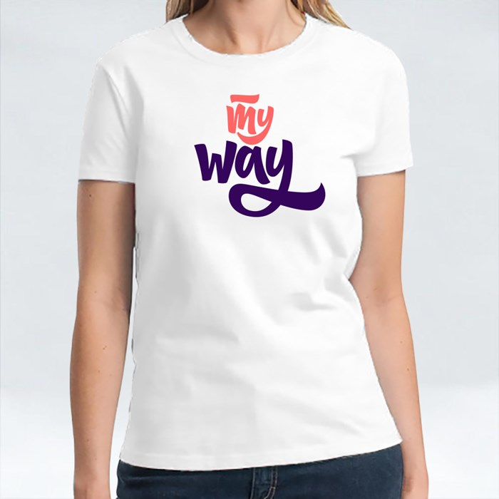 My Way Procrastinator Quote T-Shirts