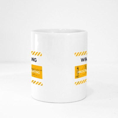 Warning Proscrastinating Magic Mugs