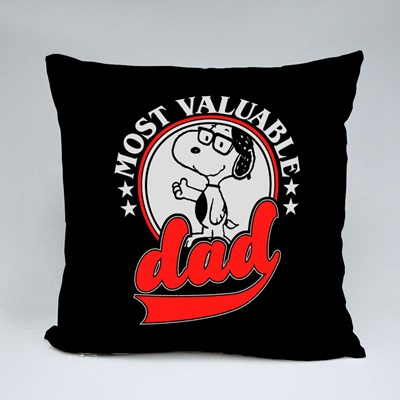Most Valuable Dad Throw Pillows