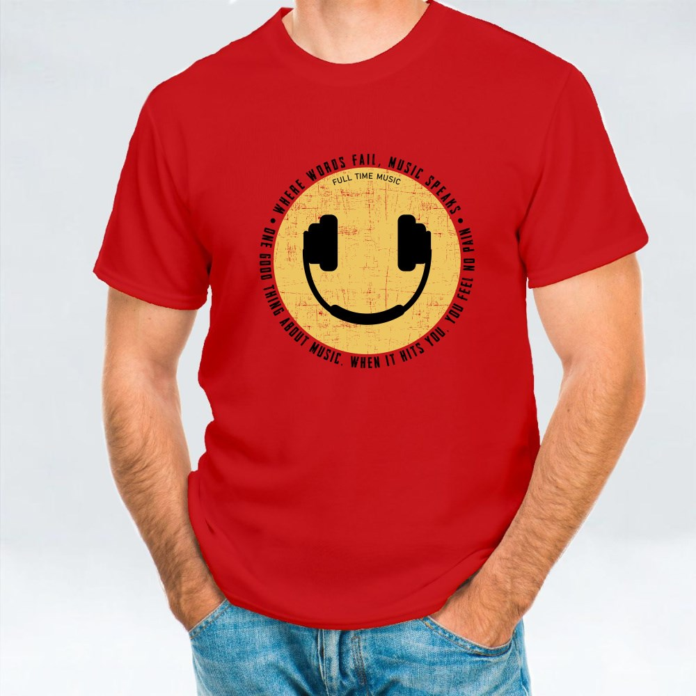 Smile Icon and Headset T-Shirts