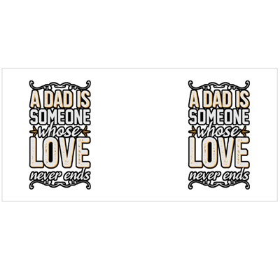 Dad Love Never Ends Magic Mugs