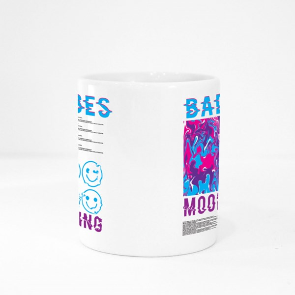 Bad Vibes Mood Swing Colour Mugs