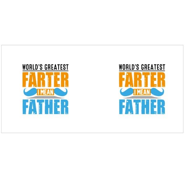 World's Greatest Father Colour Mugs
