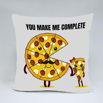 You Make Me Complete Throw Pillows