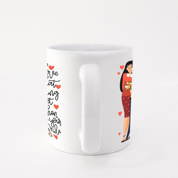 Couple in Love With Quotes Colour Mugs
