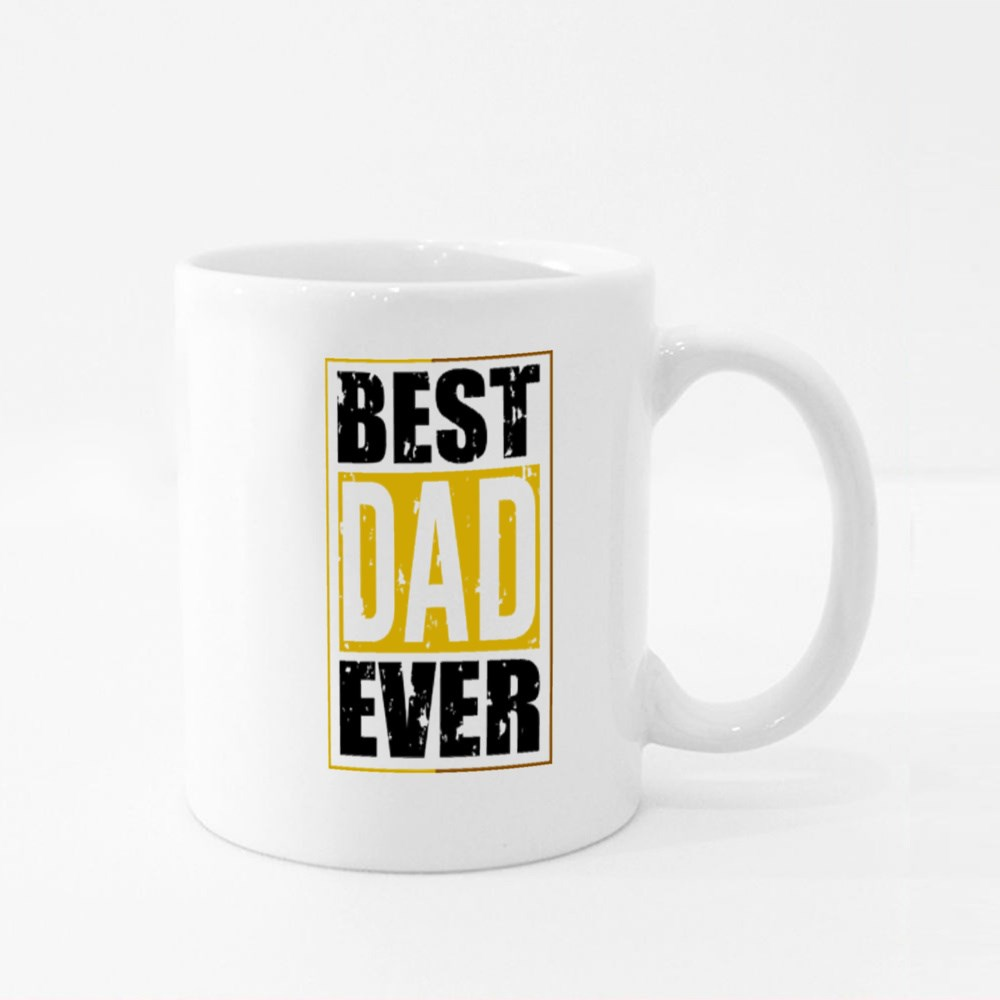 The Best Dad Ever Colour Mugs