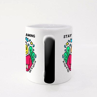 Stay Dreaming Christmas Emoji Magic Mugs
