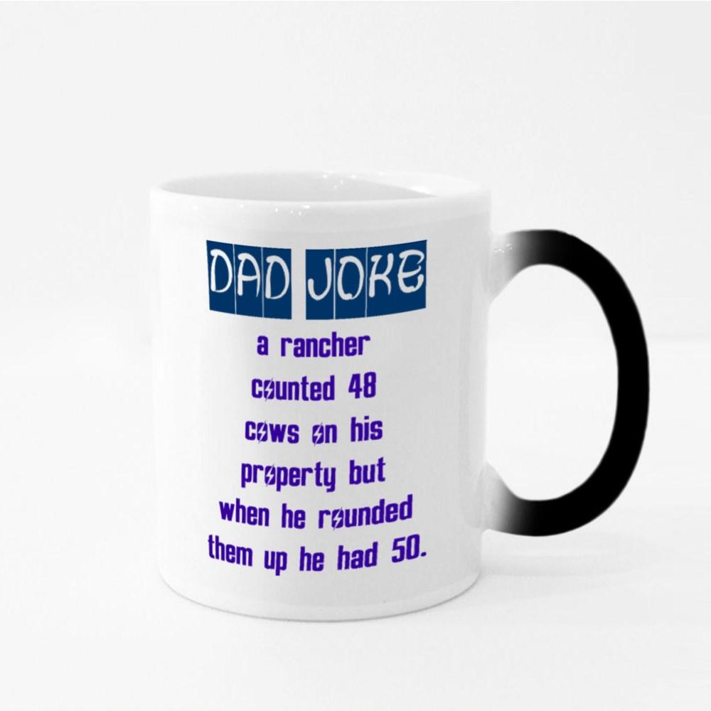 Dad Joke Is No Joke Magic Mugs
