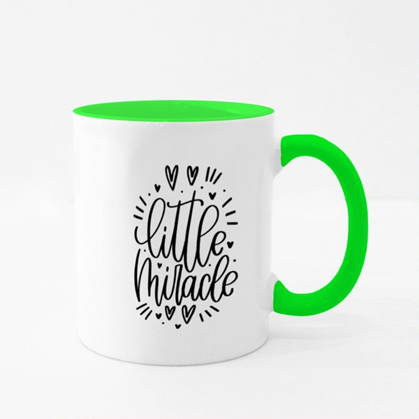 Little Miracle With Love Colour Mugs
