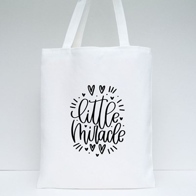 Little Miracle With Love Tote Bags
