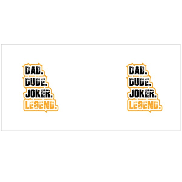 Dad Dude Joker Legend Colour Mugs