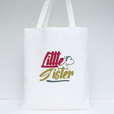 Little Sister Love Tote Bags