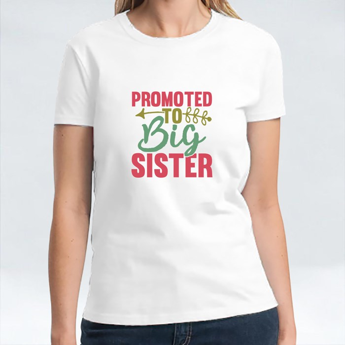 Promoted to Big Sister T-Shirts