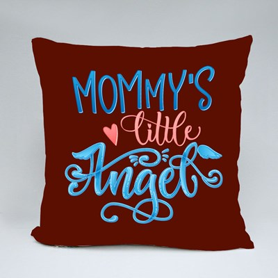 Mommy's Little Angel Throw Pillows